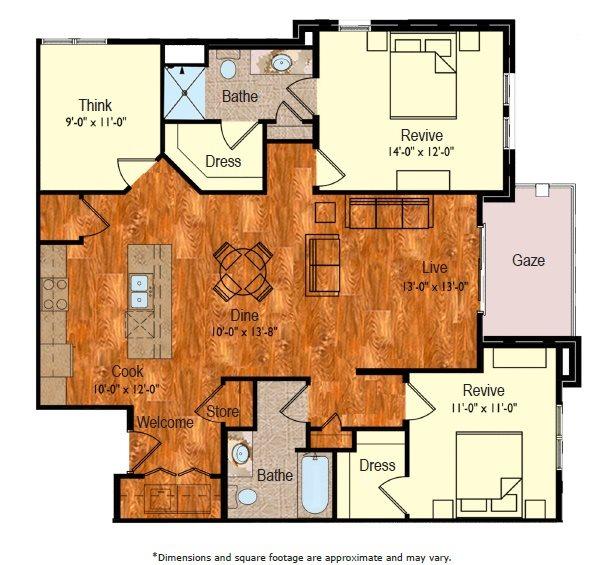 C-2 Floor Plan 12